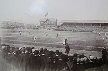 Celtic Park Pictured In 1894 The Ground Hosted First Home Game Played By Scottish League XI 1893