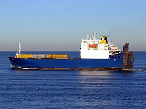 Cervine, Port of Rotterdam, Holland, 06JAN2009 pic3.JPG