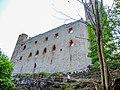 Château d'Andlau. Façade est et les deux grandes tours.jpg