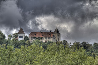 Surpierre Place in Fribourg, Switzerland