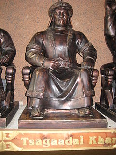 Chagatai Khan Khan of the Chagatai Khanate