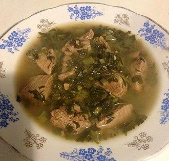 Georgian cuisine - Chakapuli