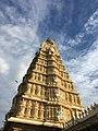 Chamundeshwari Temple Gopuram, Mysore.jpg