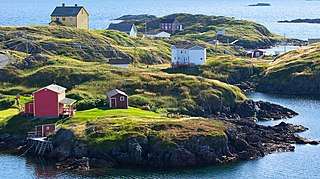 Change Islands Town in Newfoundland and Labrador, Canada