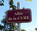 Chapeiry - Allée de la Cure (plaque).jpg
