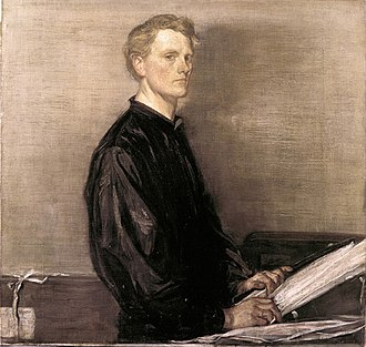 Charles Haslewood Shannon - Self-portrait, 1897