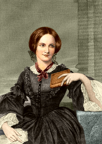 Bestand:Charlotte Bronte coloured drawing.png