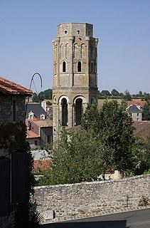 Charroux Abbey abbey located in Vienne, in France