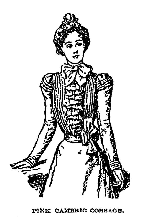 Charvet corsage