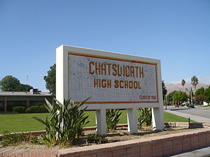 Chatsworth, Los Angeles - Chatsworth High School