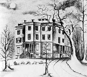"Chelsea, Manhattan - ""Chelsea"", drawn by a daughter of Clement Clarke Moore"