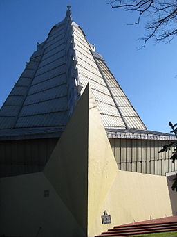 Beth Sholom Synagogue (side view)