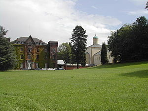 Chevetogne Abbey - Image: Chev 3