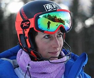 Chiara Costazza Italian alpine skier