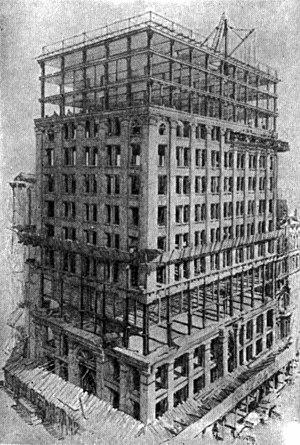 New York Life Insurance Building (Chicago) - Image: Chicago NY Life bldg 1912