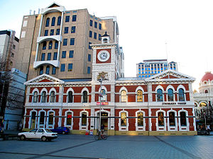 Chief Post Office, Christchurch - The former Chief Post Office after the 2010 Canterbury earthquake
