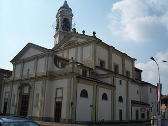 Cesano Maderno - Church in Cesano Maderno.