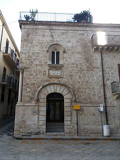 church building in Alcamo, Italy