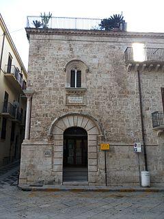 building in Alcamo, Italy