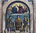 Chiesa di San Zulian - Incoronazione della Vergine con San Vito, San Giuliano l'ospitaliere e San Girolamo - Girolamo da Santacroce.jpg