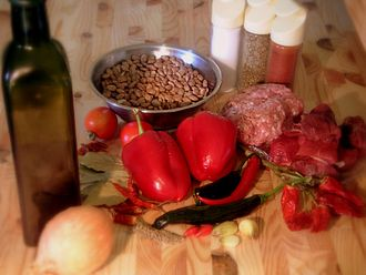 Chili con carne - Ingredients for chili con carne