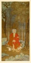 Shakyamuni under the Bodhi Tree