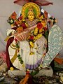 Chinalingala Dussera 2013 Sri Saraswathi devi Alamkaram by Girikonda.jpg
