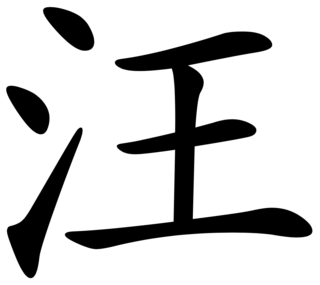 Wāng Chinese surname