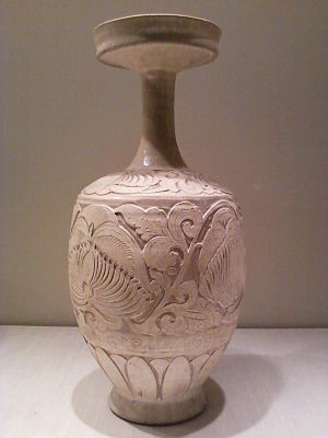 Chinese vase with carved peony scrolls.jpg