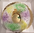 Chocolate King Cake from Gracious Bakery New Orleans Feb 2019 - Whole.jpg