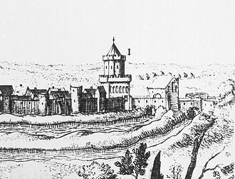 Chojna - Engraving from the 15th century