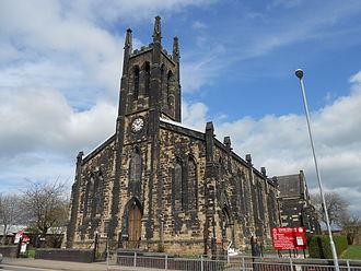 Tunstall, Staffordshire - Christ Church, Tunstall