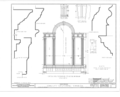 Christ Episcopal Church, Broad Street and Sycamore Avenue, Shrewsbury, Monmouth County, NJ HABS NJ,13-SHREW,1- (sheet 11 of 19).png