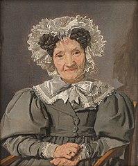 Portrait of Johanne Pløyen, née Bachmann