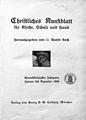 Christliches Kunstblatt für Kirche, Schule und Haus, Titelblatt, 1909.jpg