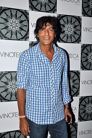 Chunky Pandey - Chunky Pandey at the success party of the film The Forest, 2012