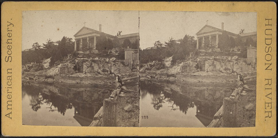 Church of Our Lady, Cold Springs, from Robert N. Dennis collection of stereoscopic views