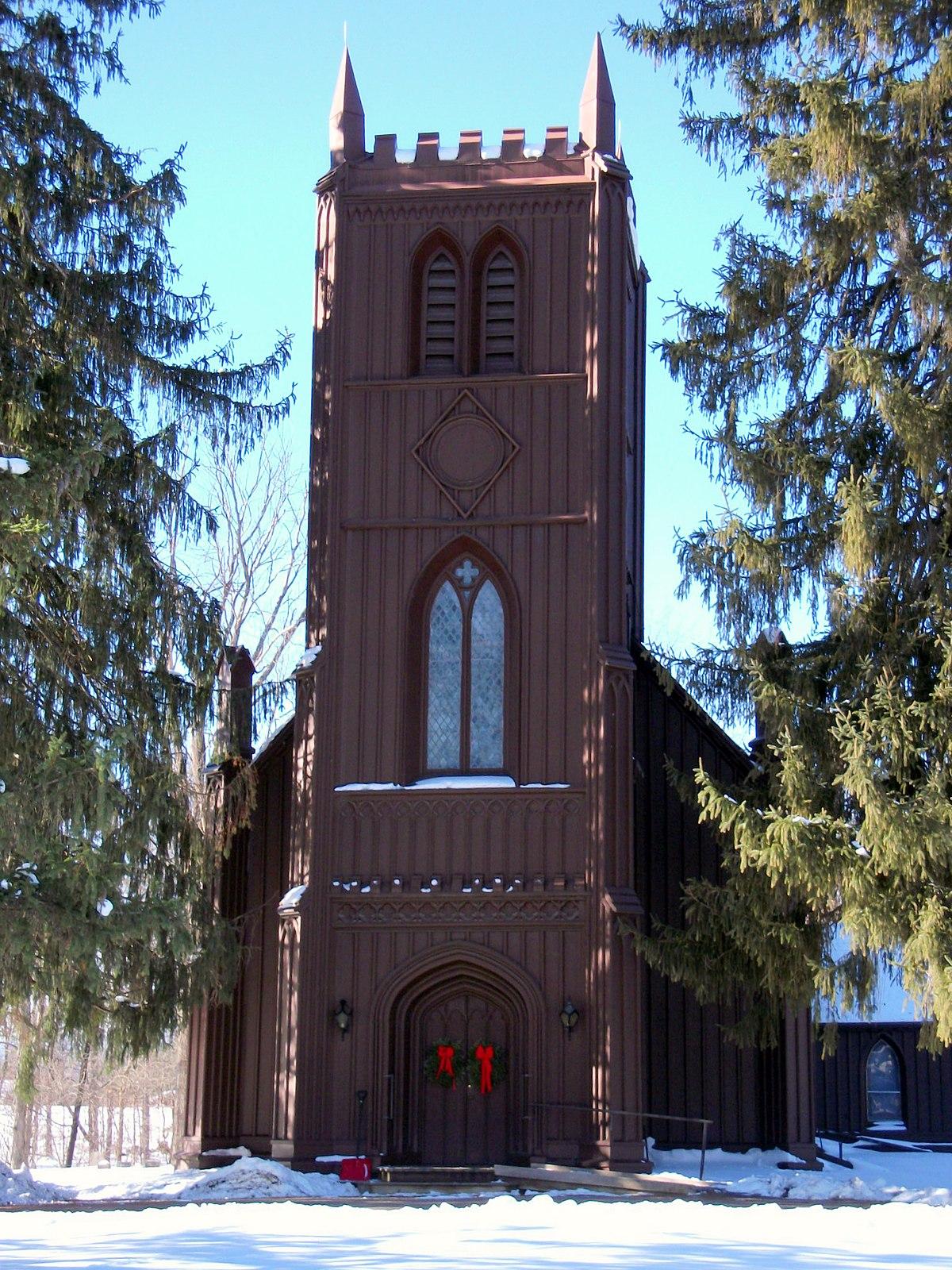 Church Of St John The Evangelist Stockport New York