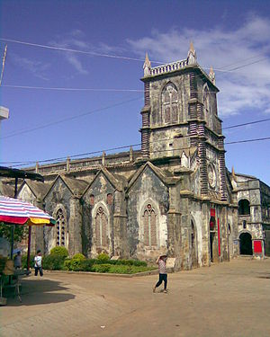 Weizhou Island - Church in Shengtang Village