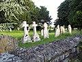 Churchyard at St Peter's Church, Britford - geograph.org.uk - 466996.jpg