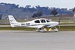 Cirrus SR22 GTS (VH-NIF) taxiing at Wagga Wagga Airport.jpg