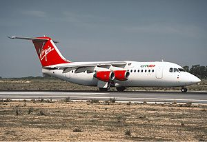 CityJet (Virgin Atlantic) BAe 146-200 Aragao.jpg