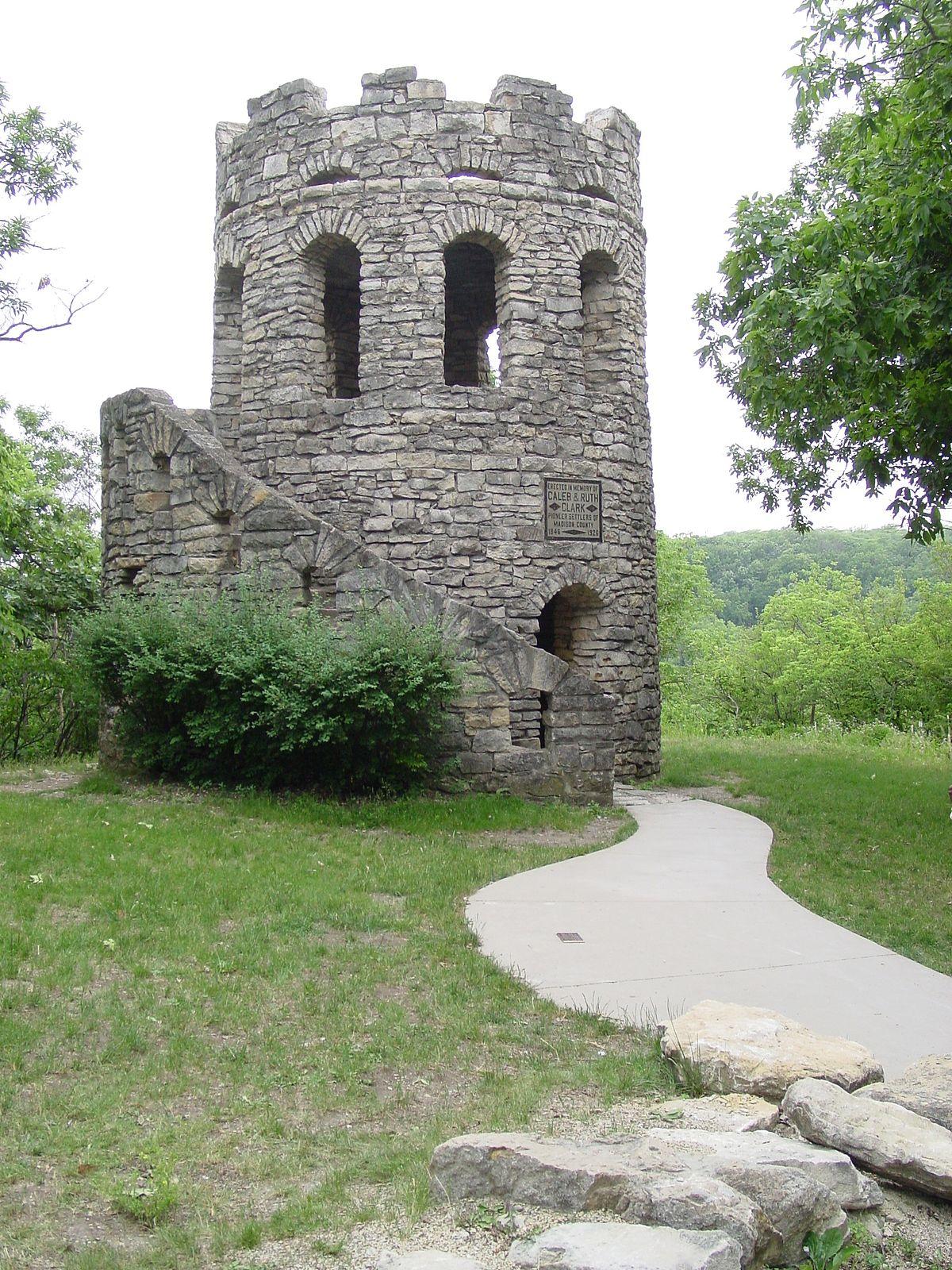 Winterset City Park Clark Tower