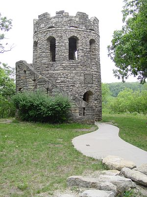 Clark Tower - Clark Tower, Winterset, Iowa