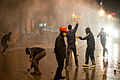 Clashes with police during protests in Ankara (tear gass application). Events of June 7-8, 2013.jpg