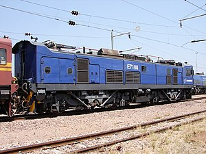 South African Class 7E1 - Image: Class 7E1 E7108