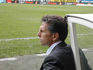 Claude Puel French association football player and manager