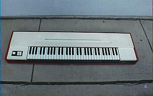 Electric piano - The Clavinet C, used on Stevie Wonder's Superstition.