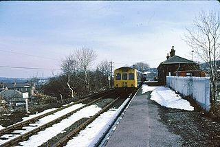 Clayton West village in United Kingdom