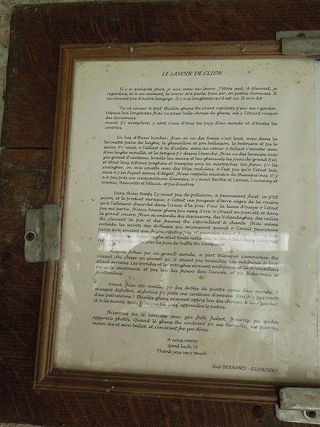 File:Clion, info lavoir (2) jpg - Wikimedia Commons
